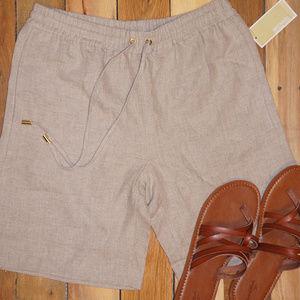 Michael Kors linen Beach shorts